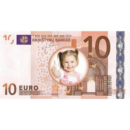 Proginiai krikštynų eurai