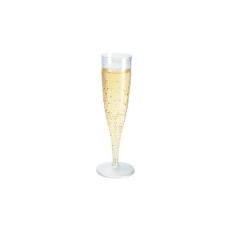 Vienkartinės taurės šampanui (10 vnt.)