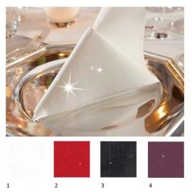 Deimantais tviskančios servetėlės, 50 vnt., 40x40 cm.