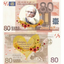 Proginiai eurai, nuo 20 vnt.