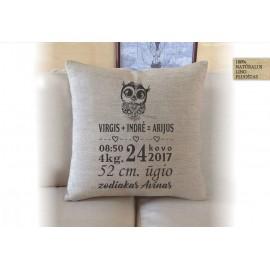 Metrikai ant pagalvėlės
