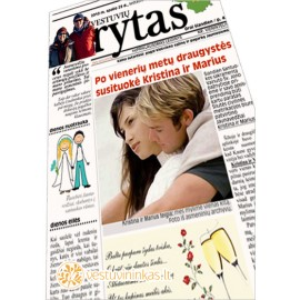 """Laikraštis """"Vestuvių rytas"""""""