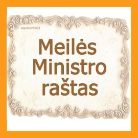 Meilės ministro raštas
